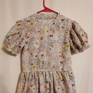 Vintage | Floral Midi Dress